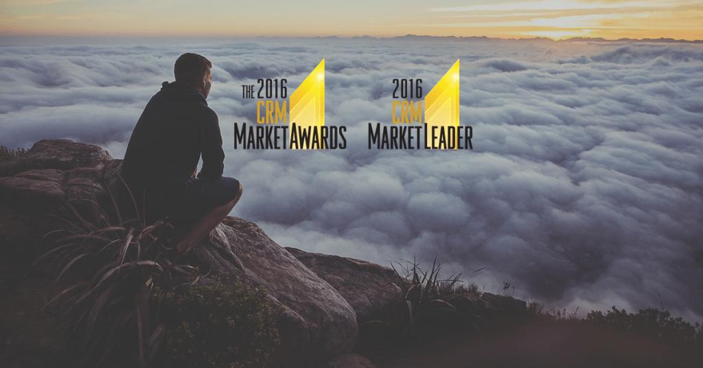 """SugarCRM mit dem Titel des CRM-Leitbetriebs in 4 wichtigsten Kategorien """"2016 CRM  Market Awards"""""""